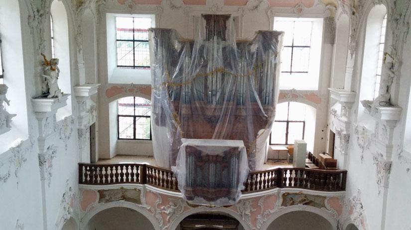 Die Orgel von J. A. Silbermann (14.09.2014)