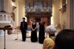 Poesia ed Affetti nella musica italiana del'600: Giorgio Paronuzzi (Cembalo), Giulia Breschi (Blockflöte und Barockfagott), Giorgia Milanesi (Sopran)